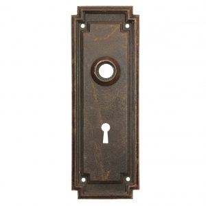Reclaimed Antique Arts & Crafts Doorplates-0