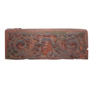 Antique Figural Terra Cotta Decorative Piece, c. 1910-0