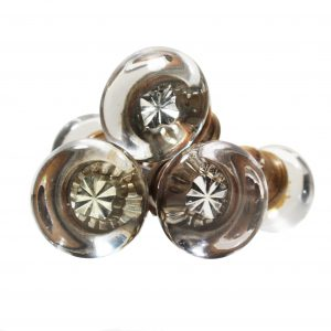 Antique Round Glass Door Knob Sets-0