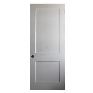 "Reclaimed 32"" Two-Panel Solid Wood Door-0"
