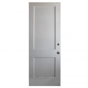 "Salvaged 29"" Two-Panel Solid Wood Door-0"