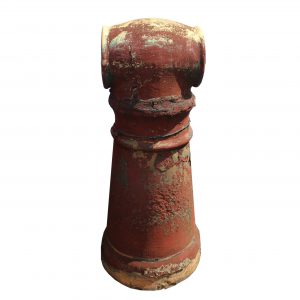 Antique Terra Cotta Chimney Pot, Early 1900's-0