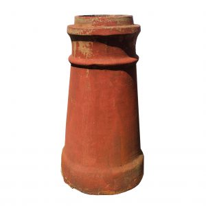 Reclaimed Terra Cotta Chimney Pot-0