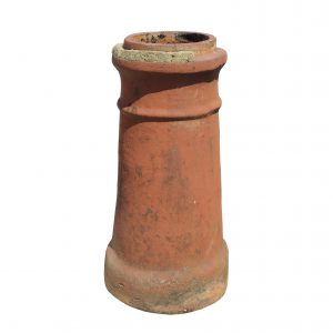 Reclaimed Terra Cotta Chimney Pot, c. 1910-0