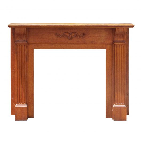 Antique Fireplace Mantel, c. 1890-0