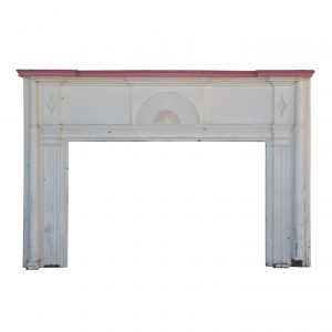 Salvaged Antique Federal Fireplace Mantel, c.1820s-0