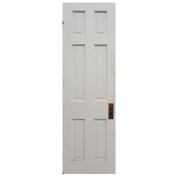 "Reclaimed 24"" Six-Panel Solid Wood Door-0"