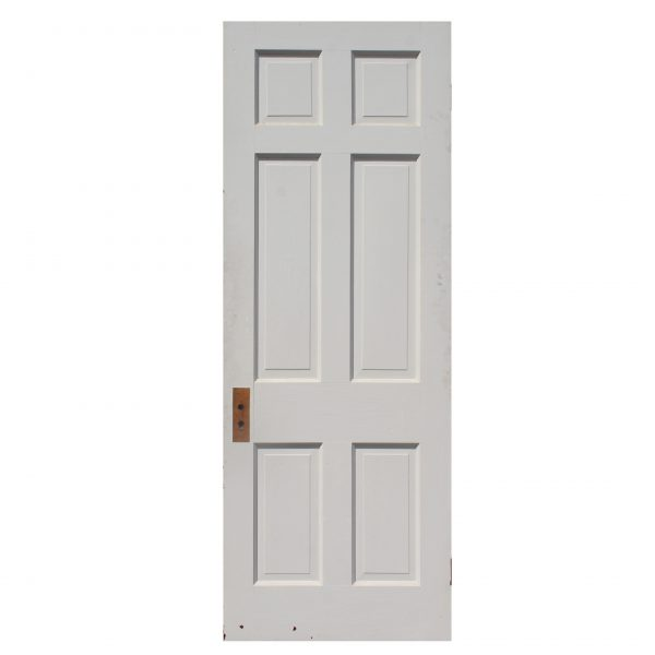 "Salvaged 30"" Six-Panel Solid Wood Door-0"