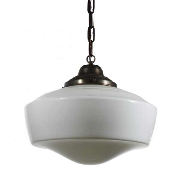 Antique Schoolhouse Pendant Light-0